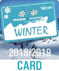 Fiemme Motion CARD Winter Inverno 2018/2019